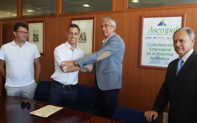 ASEMPAL y AJE Almería refuerzan su alianza de colaboración