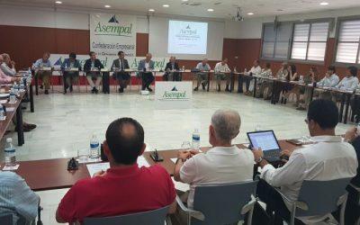 Encuentro del Consejo General de ASEMPAL con el Alcalde de Almería