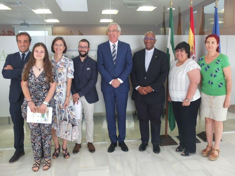 Encuentro Empresarial en ASEMPAL con el Embajador de Sudáfrica en España