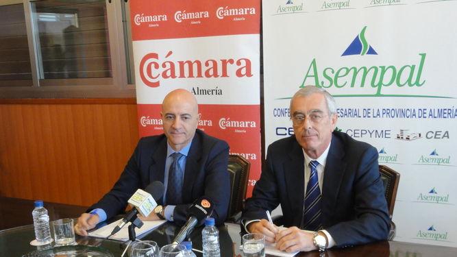 Los presidentes de Asempal y la Cámara piden que no haya ningún retraso más del AVE-Corredor Mediterráneo y que llegue a Almería en 2023