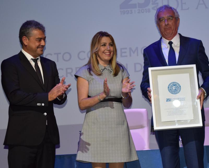 Reconocimiento a Asempal en el 25 Aniversario de la Universidad de Almería