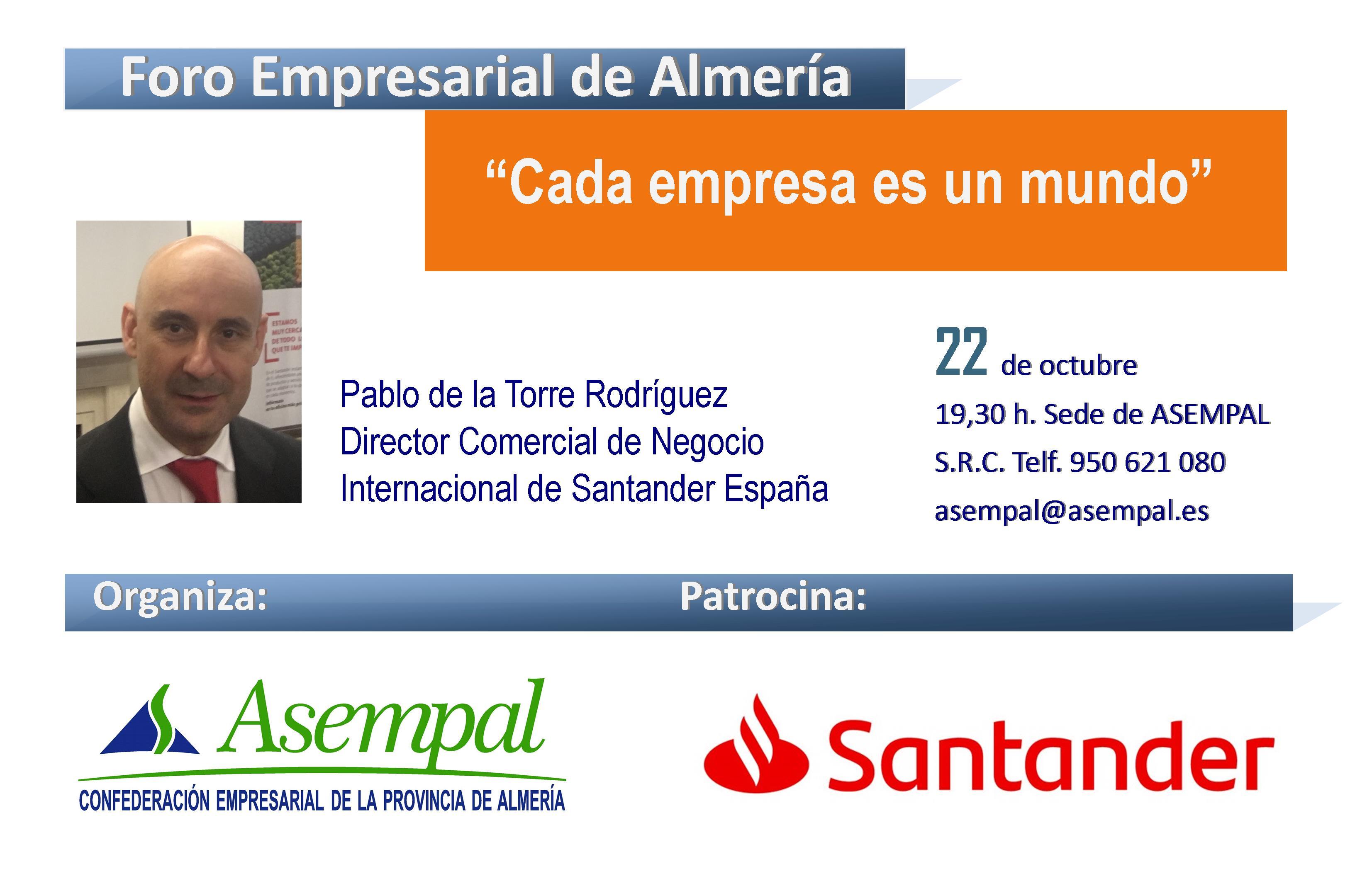 Foro Empresarial de Almería @ Sede Asempal | Almería | Andalucía | España