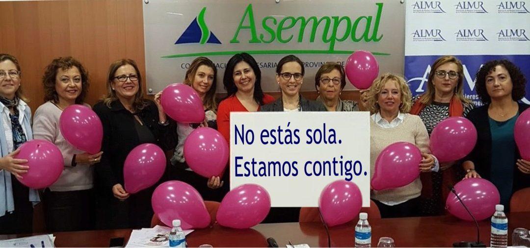 ALMUR envía un mensaje de solidaridad a las mujeres maltratadas.