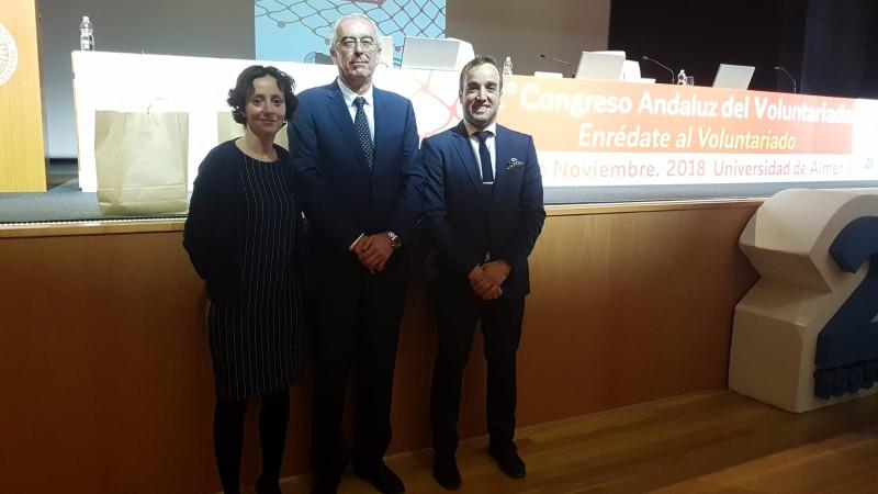 Asempal reafirma el compromiso social de las empresas en el  12º Congreso Andaluz del Voluntariado