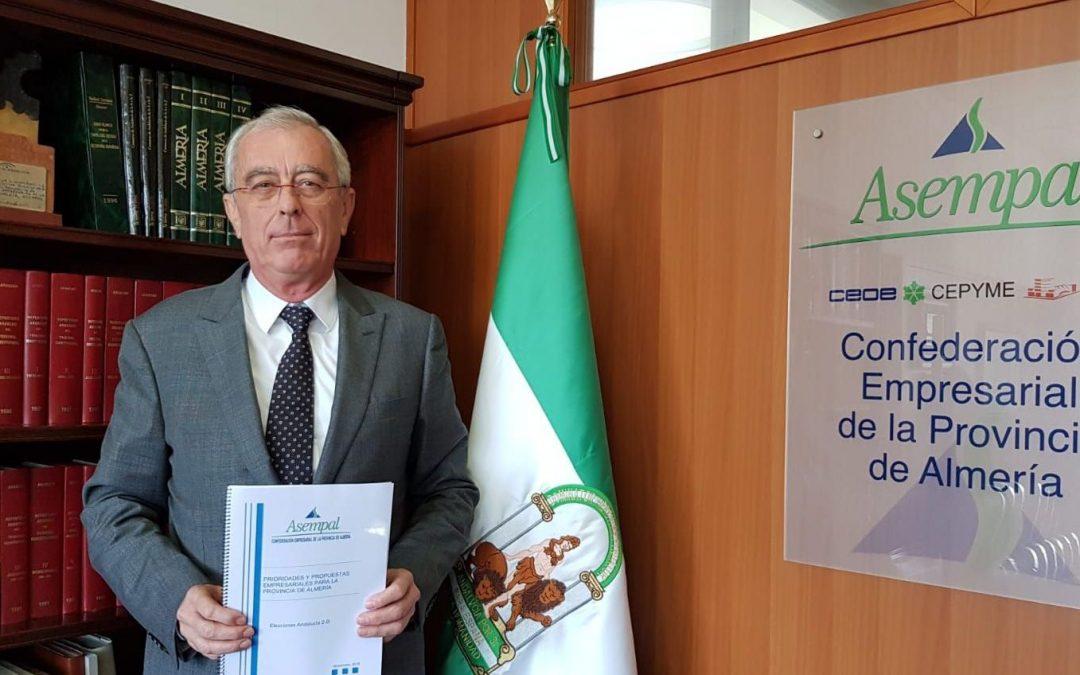ASEMPAL traslada a los partidos las prioridades empresariales para Almería de cara a las elecciones andaluzas del 2-D