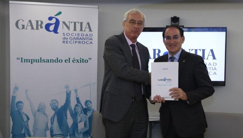 ASEMPAL y Garántia SGR colaborarán para el impulso de la financiación de pymes