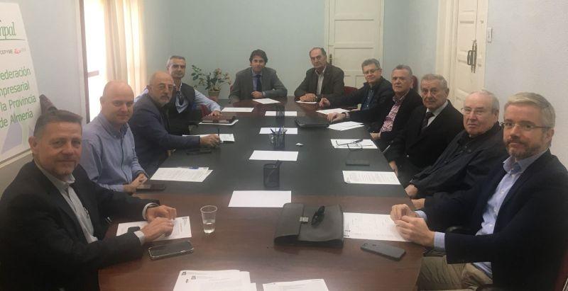 La Asociación de Promotores Constructores de Edificios de Almería renueva su Junta directiva