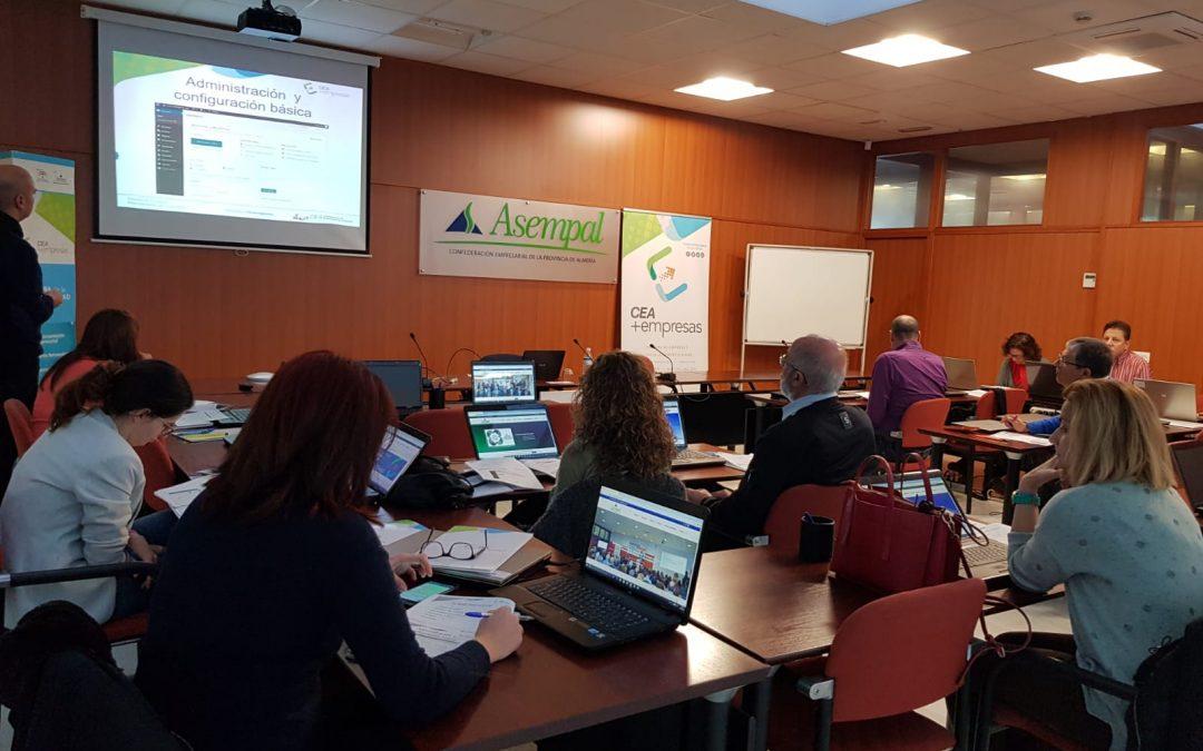 Éxito del seminario sobre WordPress