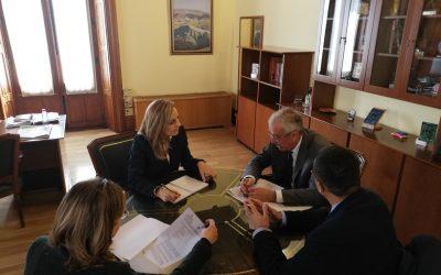 Encuentro con la delegada del Gobierno de la Junta en Almería