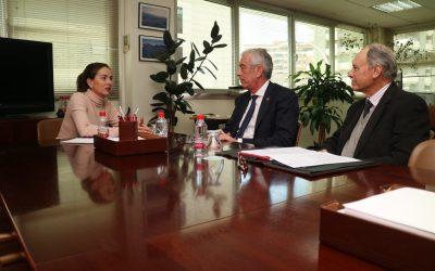 El presidente de Asempal y la delegada territorial de Agricultura de la Junta de Andalucía mantienen un encuentro institucional