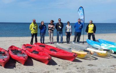 La Asociación de Empresas de Kayak, AEKAL, se adhiere a Almería 2019 en la promoción del Turismo