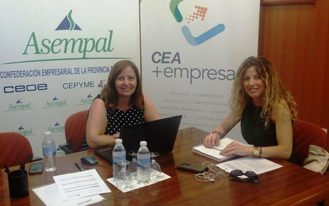 """El programa """"Mentoriza"""" da sus primeros pasos en Almería de la mano de ASEMPAL y CEA"""