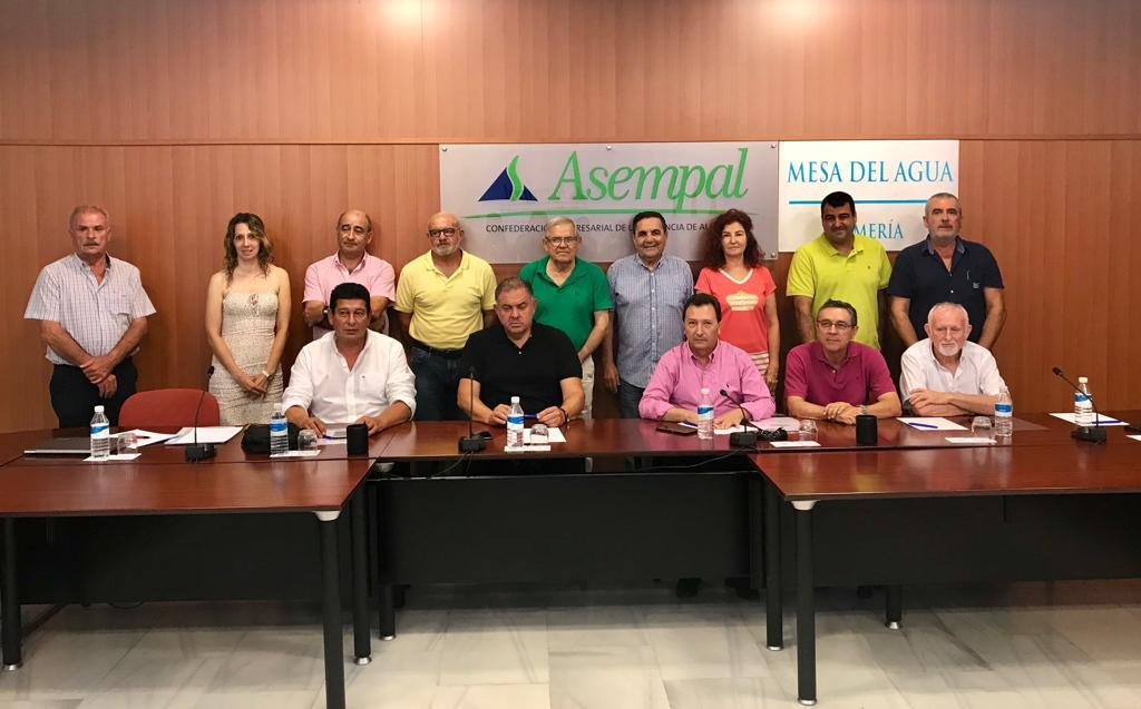La Mesa del Agua de Almería alerta de la situación hídrica que vive actualmente la provincia