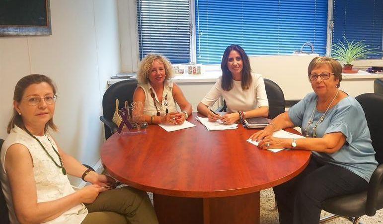 ALMUR mantiene encuentros de trabajo con Diputación y Ayuntamiento de Almería