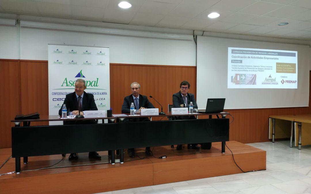 Éxito de la Jornada de PRL sobre coordinación de actividades empresariales