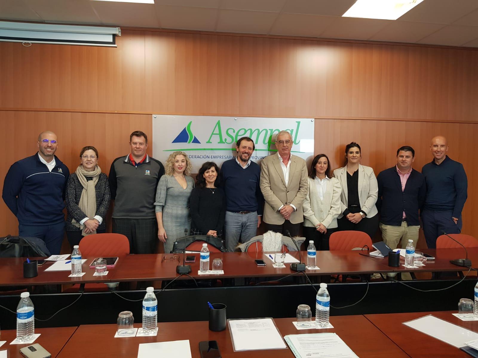 La Asociación de Campos de Golf de Almería, nueva organización en Asempal